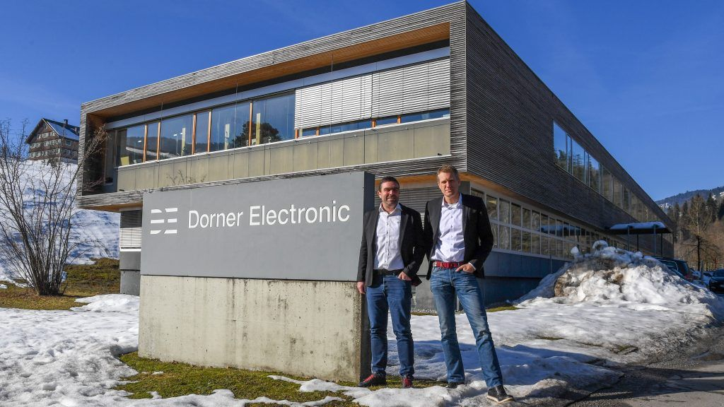 Innovation als roter Faden: Peter Germann und Michael Jäger von Dorner Electronic im VN-Interview.