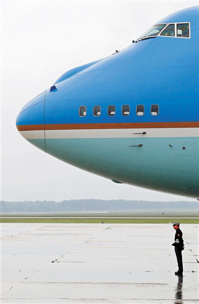 Überdimensionale Air Force One