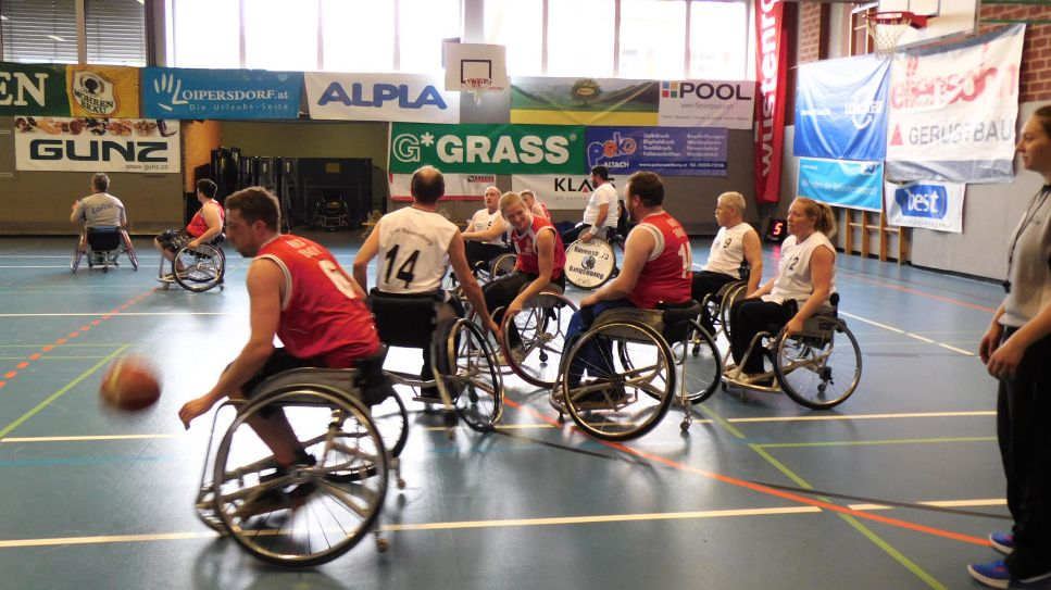42. Rollstuhlbasketball-Turnier in Altach