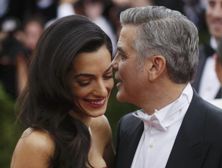 Im September hat George Clooney Amal geheiratet. Foto: Reuters