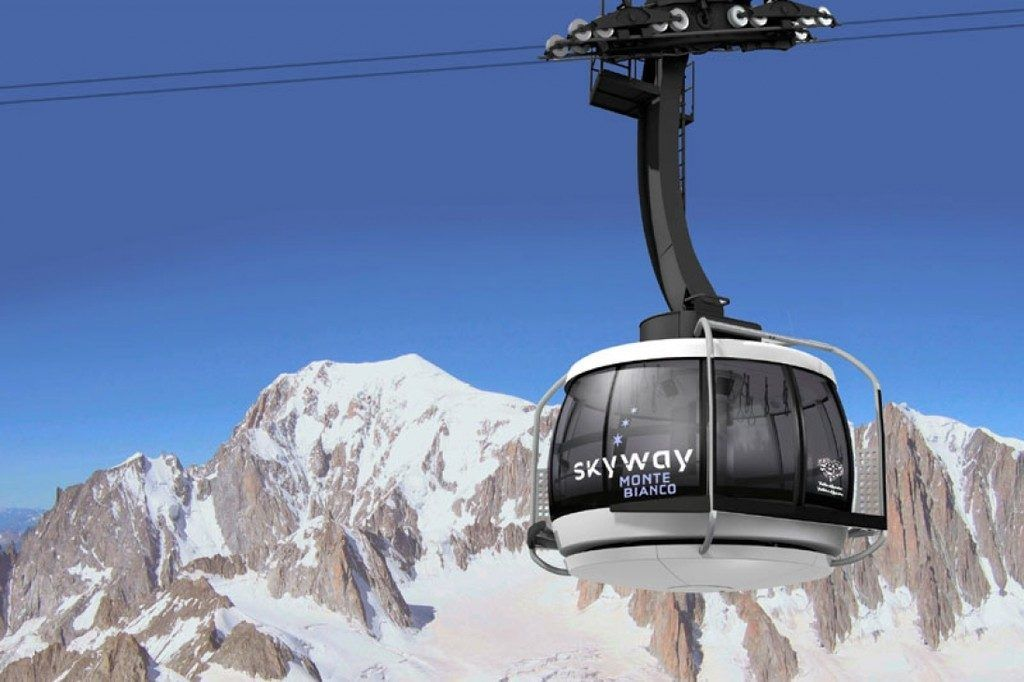 Doppelmayr baut den Skyway am Mont Blanc