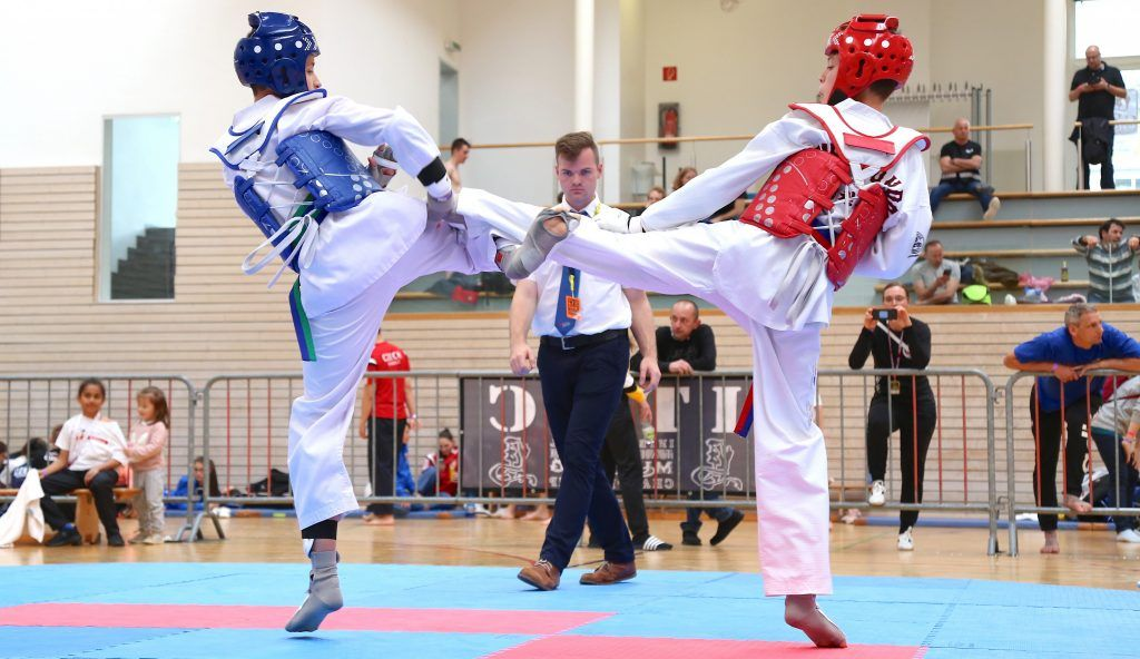 Zweites internationales Taekwondo-Turnier in der Reichenfeldhalle