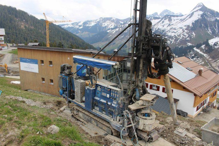 102 Meter Tunnel Unter Der Skipiste In Damuls Vorarlberger