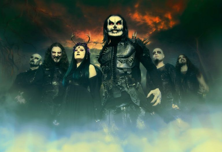"Die Metal-Band Cradle Of Filth lässt es mit ihrem neuen Album ""Hammer Of The Witches"" krachen.               foto: cradle of filth"
