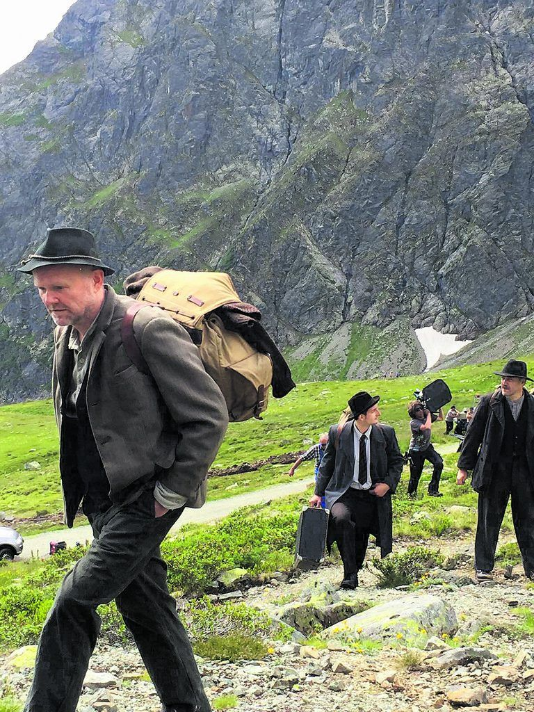 Flucht über Die Berge