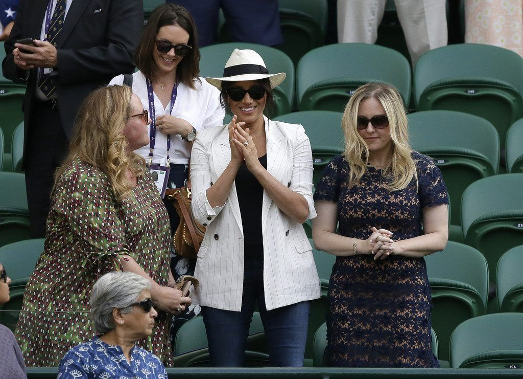 Royaler Besuch in Wimbledon