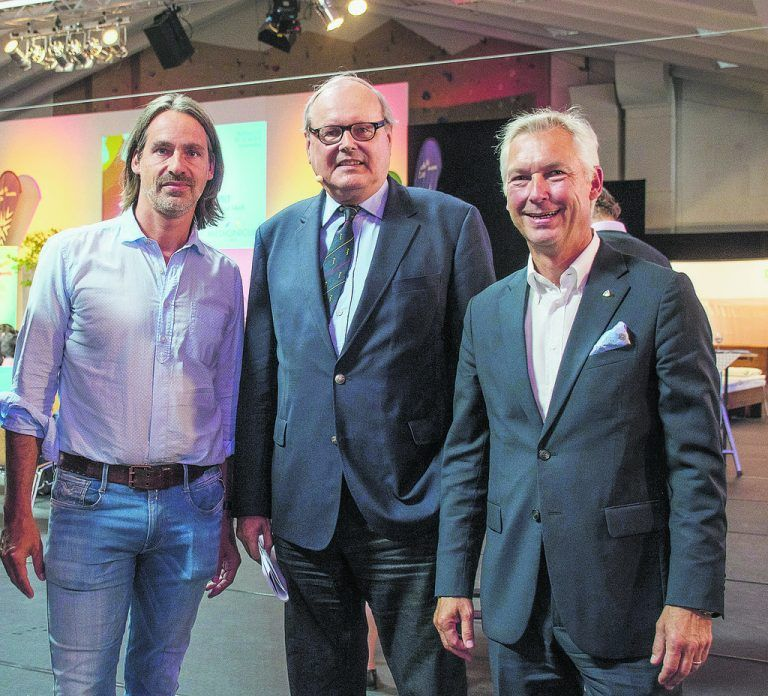 Richard David Precht, Markus M. Metka und Hermann Fercher.
