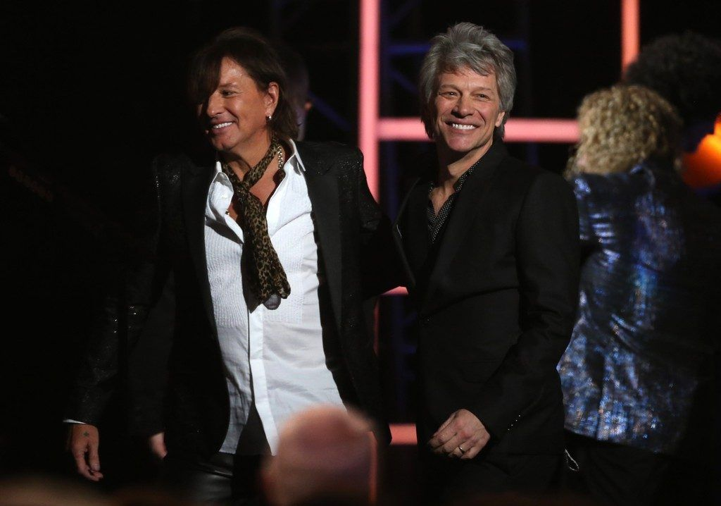 Bon Jovi in Hall of Fame