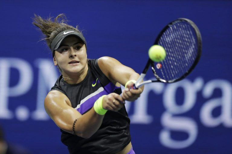 Bianca Andreescu (19) fordert Serena Williams (37) im US-Open-Finale.AFP
