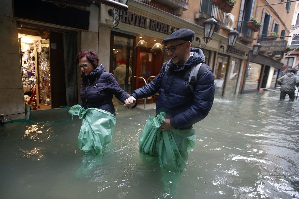 Lage in Venedig angespannt