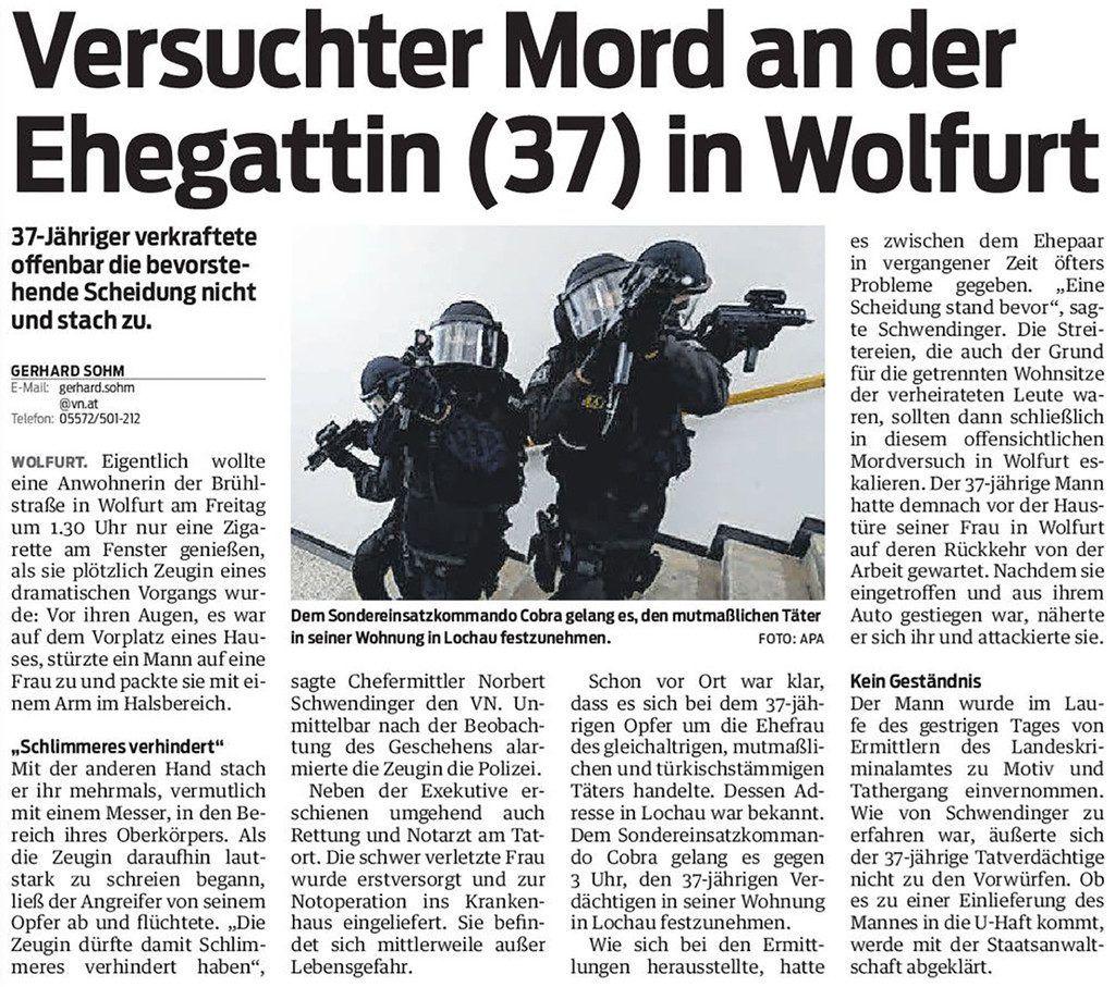 Heimat Wolfurt Heft 6