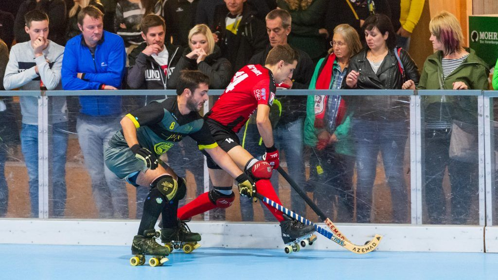 Derbykracher im Rollhockey