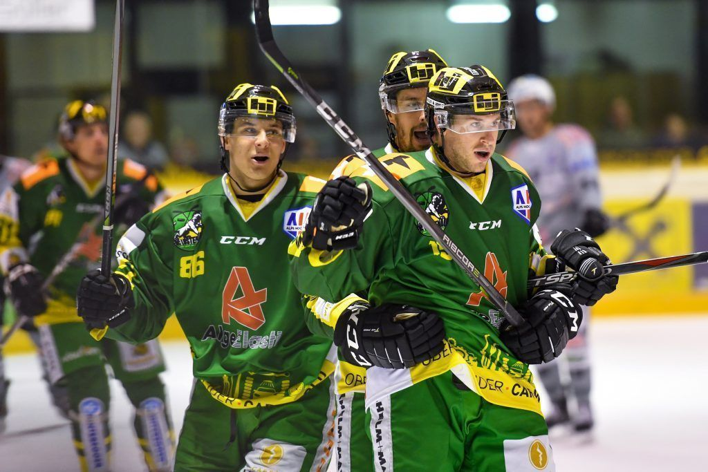 Ländle-Eishockeycracks mit Siegen in Alps Hockey League
