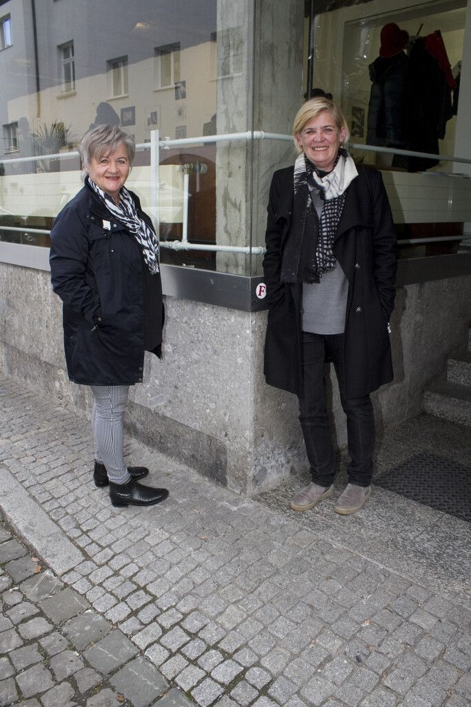 Fotografin Christine Kees (l.) und Andrea Romagna-Miessgang (Galerie.Z).