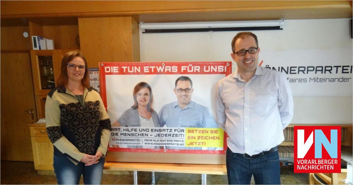 Männerpartei tritt zur Landtagswahl an - Vorarlberger